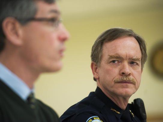 South Burlington Police Chief Trevor Whipple.