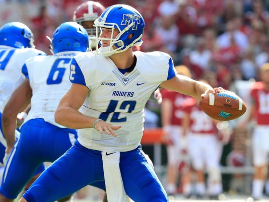 NCAA Football: Middle Tennessee at Alabama