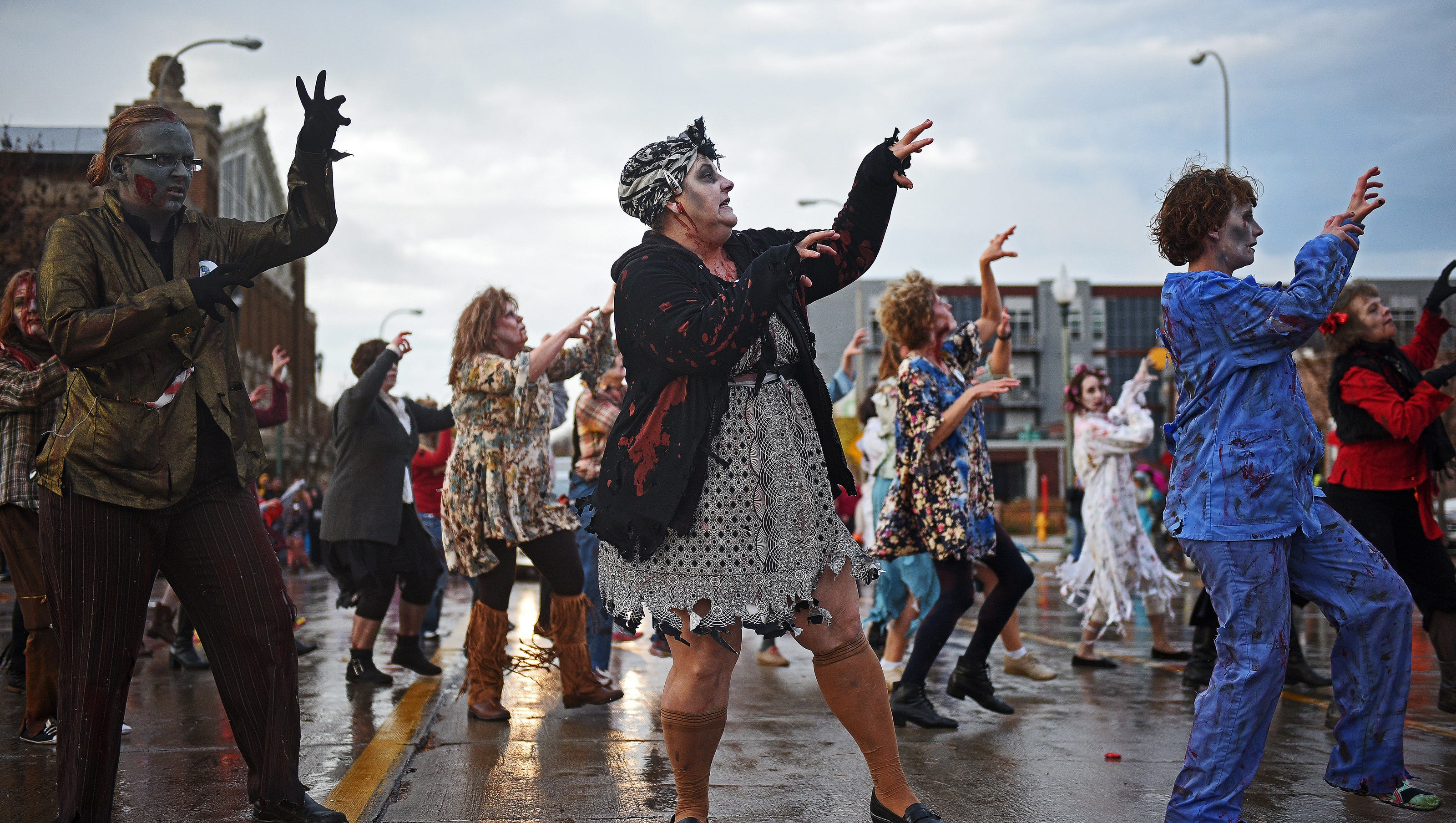 zombie walk ready to invade downtown