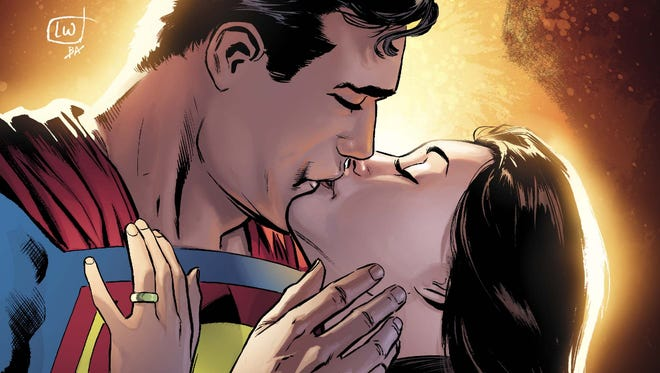 """Convergence: Superman"" revisits a time when Superman was married to Lois Lane."