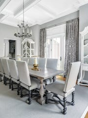Dining room designed by Ruth Richards, Interiors at