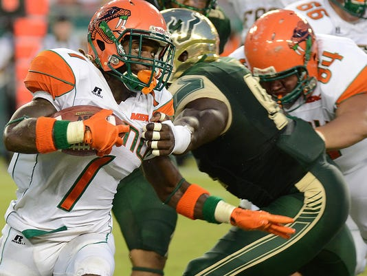 NCAA Football: Florida A&M at South Florida
