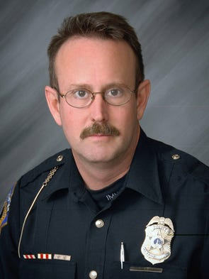Officer Perry Renn, 51, a 21-year veteran with the