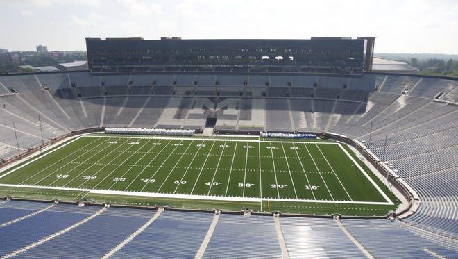Michigan Stadium in 2010.