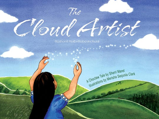 """The Cloud Artist"" by Sherri Maret has been nominated for an Oklahoma Book Award."