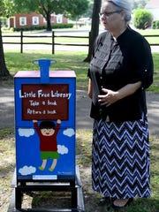 Jackson-Madison County Library Director Dinah Harris