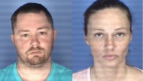 Virginia State Police say Sean D. Castorina and Penny M. Dawson of Burlington, North Carolina are wanted on charges of malicious wounding and use of a firearm.