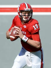 Paradise Valley high school product Ryan Finley playing quarterback at N.C. State