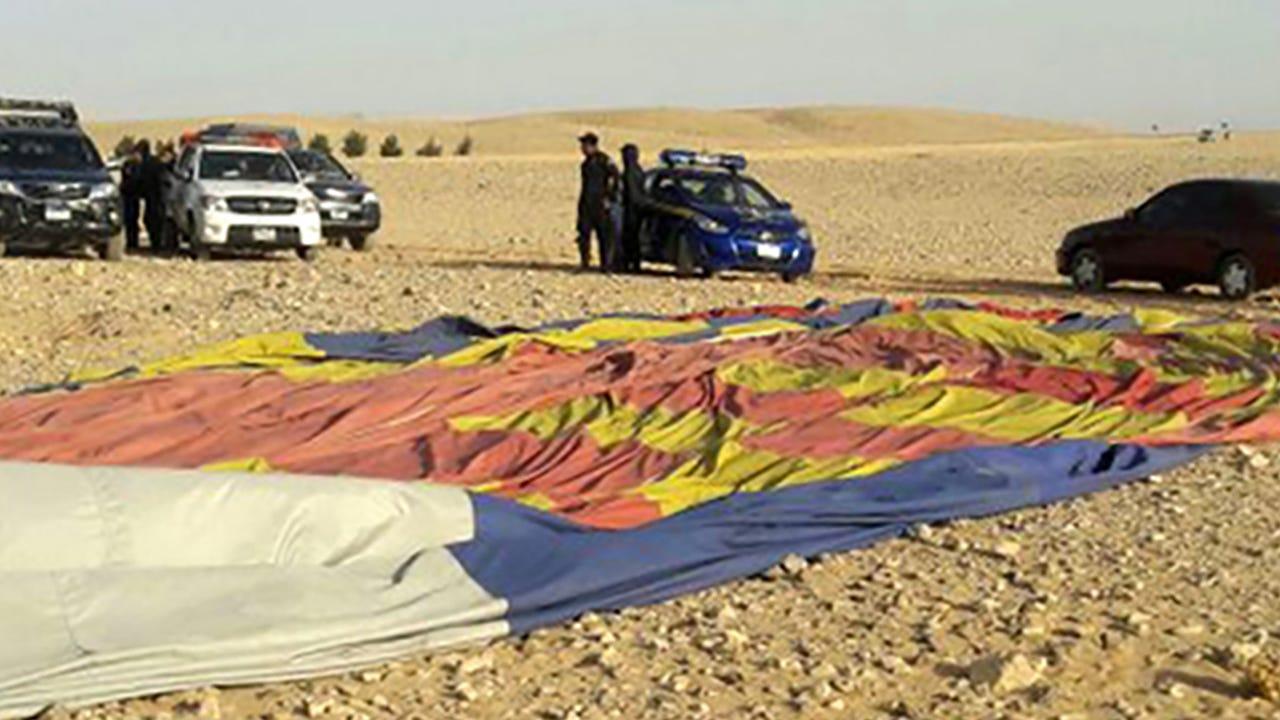 Tourist killed in hot air balloon crash near Luxor