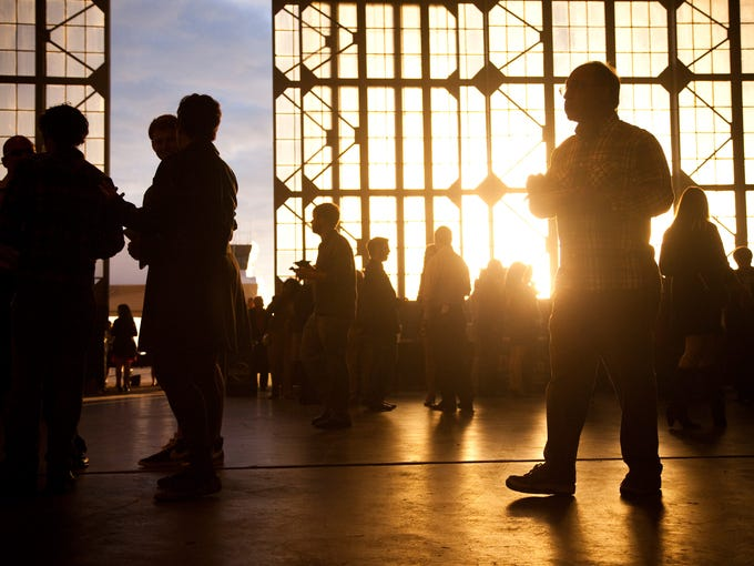 The 40th anniversary of Taste of Louisville was held Wednesday evening, in the Louisville Executive Aviation hanger at Bowman Field. Top local restaurants and breweries showcased their eats and drinks to several hundred guests.