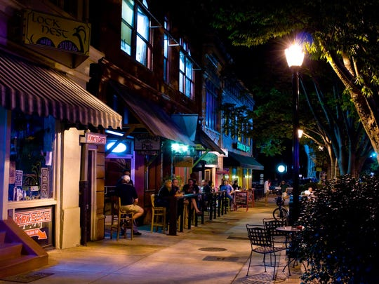 Athens is the quintessential southern college town, complete with a lively nightlife in College Square.