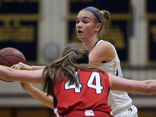 Appleton North's Emma Erickson is only a sophomore, but she already has interest from UWGB and UWM.