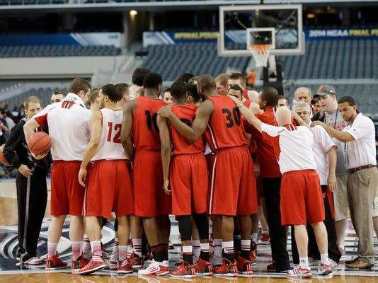 NCAA Wisconsin Final Four Basketball