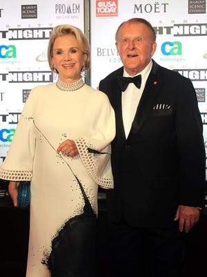 Bruce Halle, the founder of Discount Tire (shown with his wife, Diane, in a 2012 photo), may be the wealthiest person in Arizona, with an estimated net worth of $5.9 billion. He ranks 248th on Forbes' list of the 1,000 wealthiest billionaires.