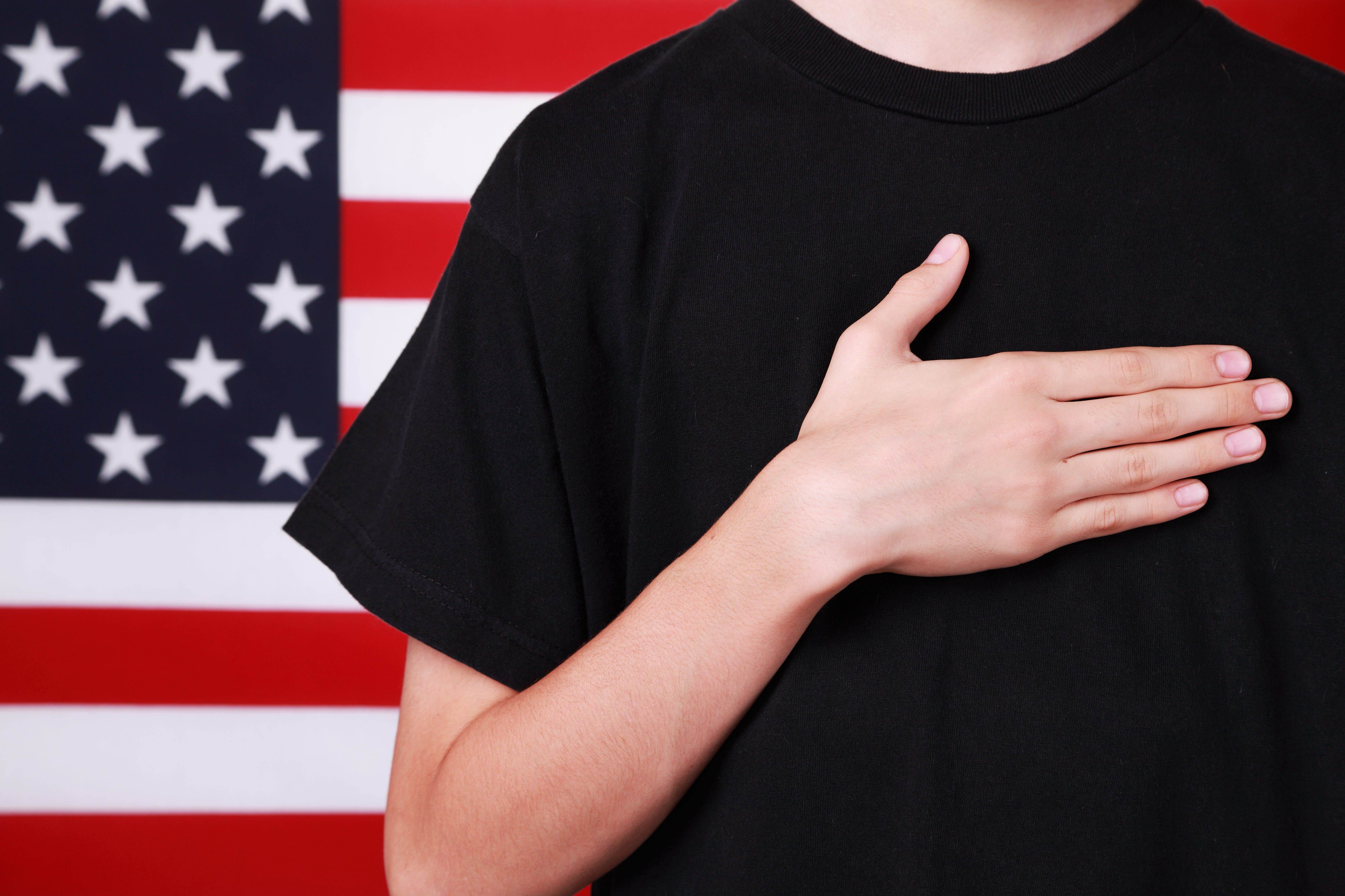 photo about Pledge of Allegiance in Spanish Printable named Florida college student, 11, arrested once refusing Pledge of