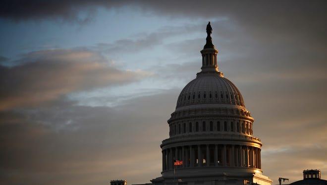 FILE: The Capitol is seen at sunrise in Washington. (AP Photo/J. Scott Applewhite)
