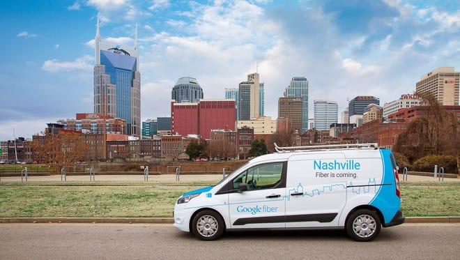 Google Fiber announces expansion to southeastern United States including Nashville.