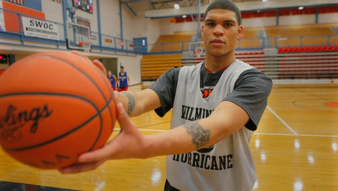 Jarron Cumberland of Wilmington was the Enquirer Player of the Week in January of 2014.