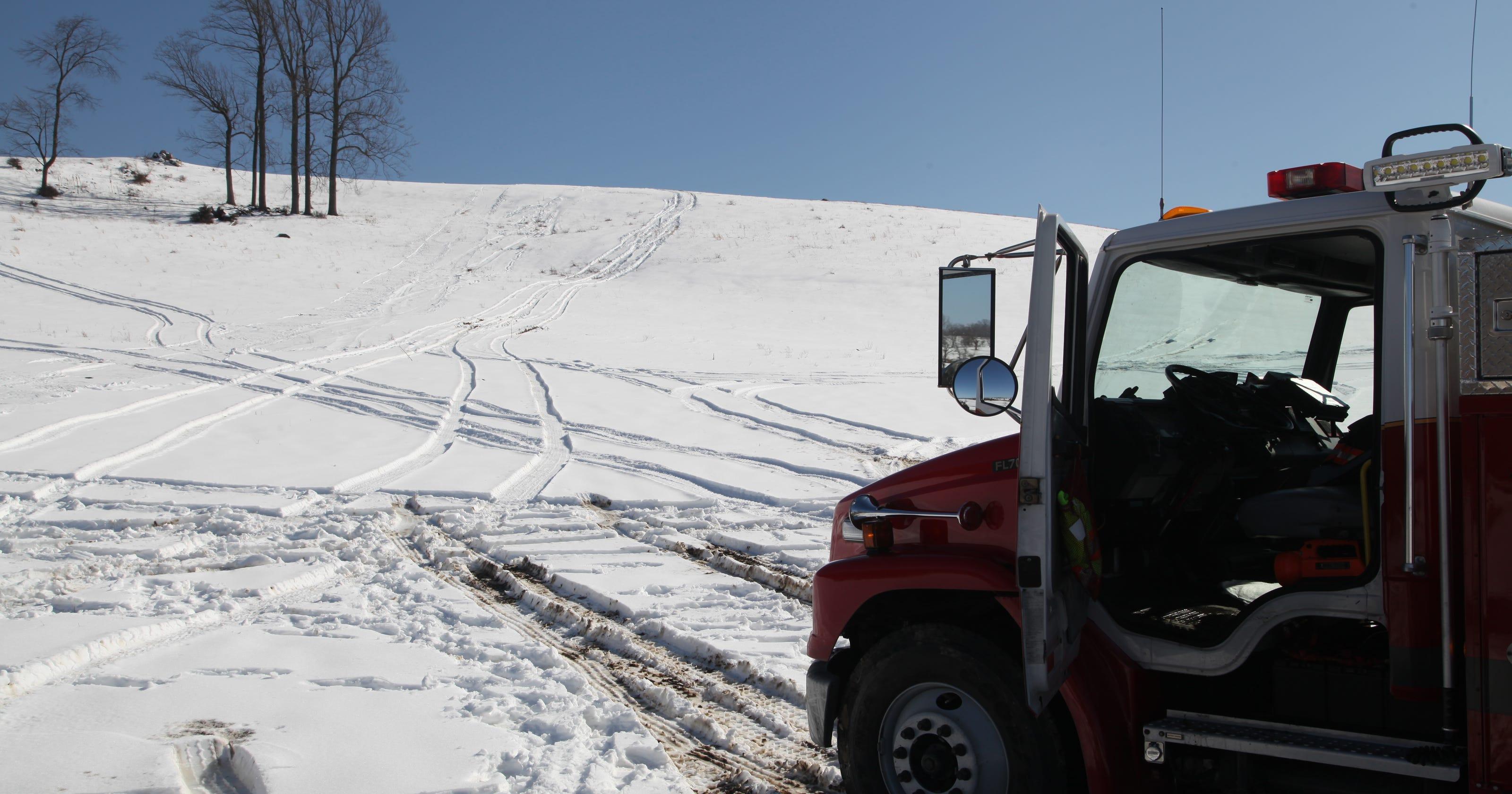 Six hospitalized after sledding accident