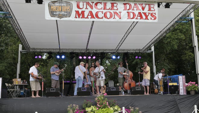 The annual Uncle Dave Macon Days Music and Arts Festival is set for July 8-9 at Cannonsburgh Pioneer Village, 312 S. Front St. in Murfreesboro. Admission is $10 per day for adults, $5 for ages 65 and older and free for ages 12 and younger.