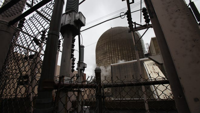 The exterior of Indian Point 2 at the Indian Point Energy Center in Buchanan, Aug. 11, 2015.