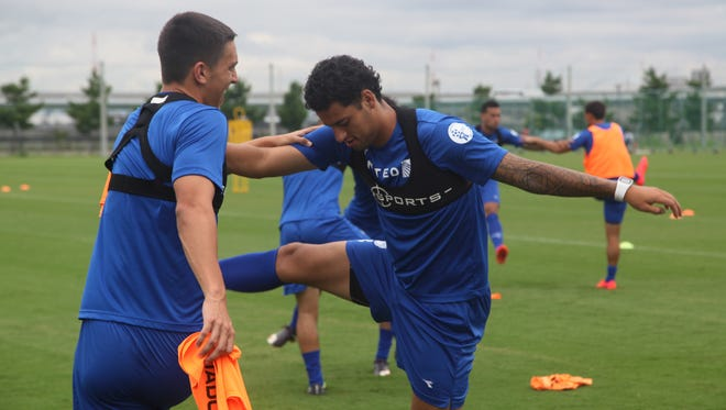 The Guam national soccer team wore GPSports equipment during training camp in Osaka, Japan to prepare for its 2018 FIFA World Cup Qualifying matches against Iran and Oman.