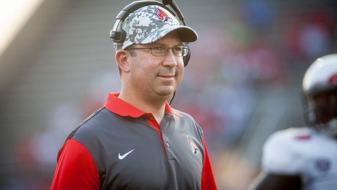 Ball State University took on the Virginia Military Institute Thursday night for the first opening game of the season at Scheumann Stadium.