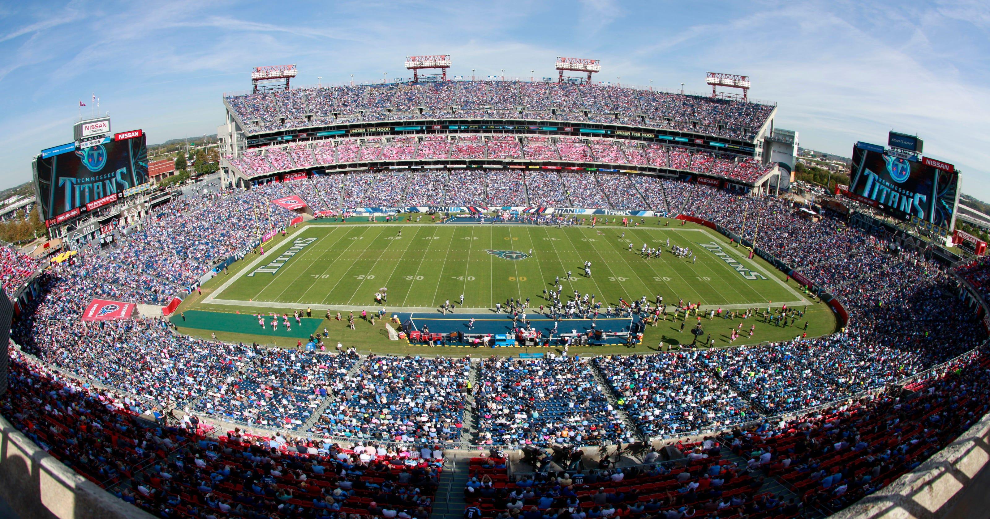 Tennessee Titans fire Nissan Stadium concessions vendor