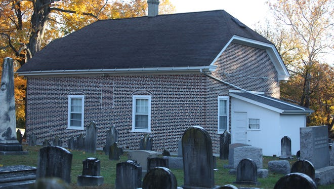 The Welsh Tract Church in Newark which is supposedly haunted.