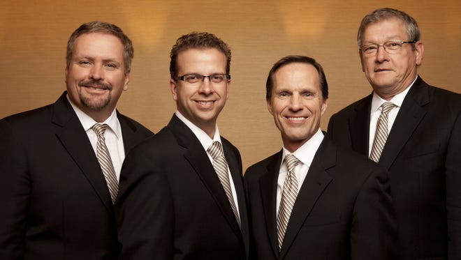 The Blackwood Brothers Quartet will appear in concert at 4 p.m. on Saturday, Nov. 7, at the Stefanie H. Weill Center for the Performing Arts.