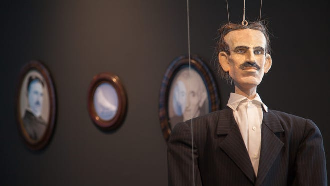 'Elegy for Tesla,' an installation by artist Jeanne Jaffe, with the Rowan University College of Engineering, explores the life of inventor Nikola Tesla.