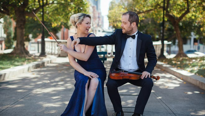 Pianist Margarita Loukachkina and violinist Nikita Borisevich will perform a series of concerts in the El Paso area this week as part of the El Paso Pro-Musica Young Artist Development Series.