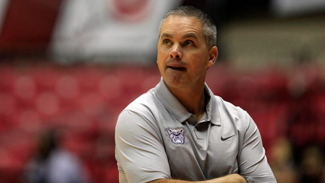 "Butler basketball coach Chris Holtmann says his team benefited from being exposed to a veteran team like Miami. ""We learned that we have a long way to go,"" he said."