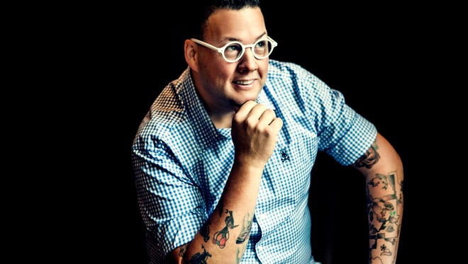 Chicago chef Graham Elliot appears at the IndyStar Food & Wine Experience Oct. 7 at Clay Terrace in Carmel.