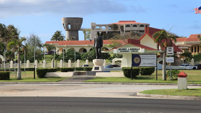 A PDN file photo of the governor's complex in Hagatna.