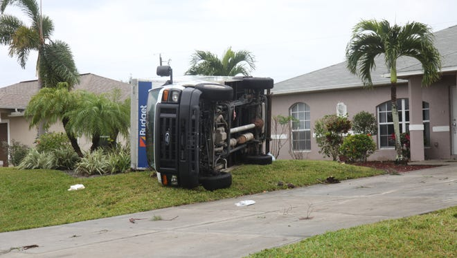 An EF-2 tornado touched down in Southwest Cape Coral on Saturday night leaving a clear path of destruction in it's wake.