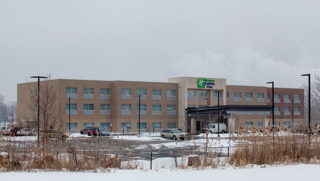 The Holiday Inn Express, 2021 Water Street, is now accepting guests. The hotel was previously slated to open on Feb. 8.