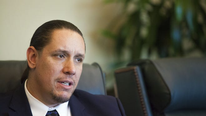 Jeff Grubbe, chairman of the Agua Caliente Band of Cahuilla Indians, was re-elected to a third consecutive two-year term during tribal elections in March.