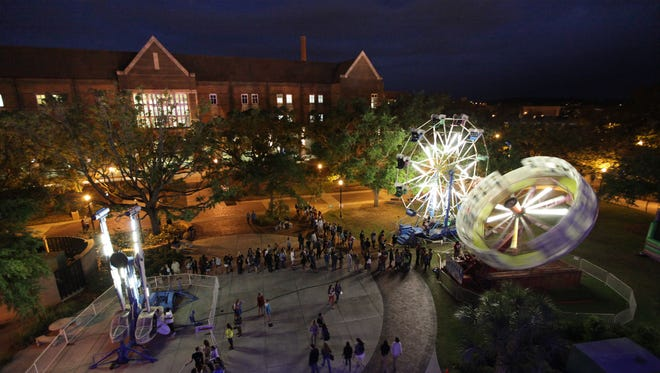 Spring Fling has been a popular FSU tradition for years, as seen here in this photo from 2013.
