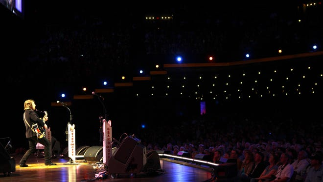 Jimmy Wayne performs at the Grand Ole Opry for the 200th time.