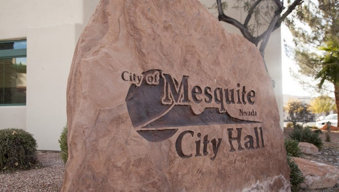 Mesquite City Hall is located at 10 E. Mesquite Blvd.