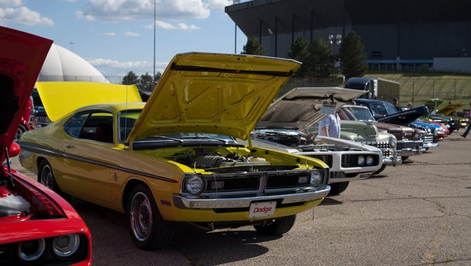 All types of vehicles came to race at Roadkill Nights Powered by Dodge on Wednesday, August 12, 2015 at the Pontiac Silverdome in Pontiac. Tim Galloway/Special for DFP