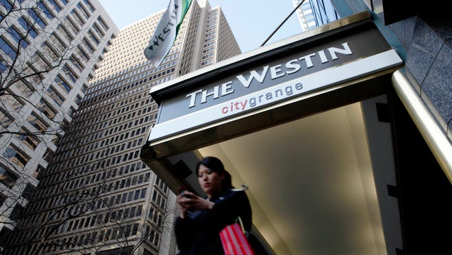The Westin Philadelphia hotel in Philadelphia. Hyatt, Sheraton, Marriott and Westin hotels in 10 states and the District of Columbia may have been targeted by hackers for months.