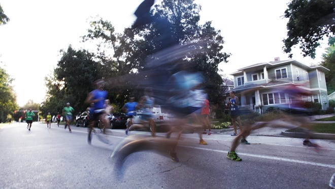 The Mountain Avenue Mile is on Tuesday, and features waves for non-competitive and competitive runners.