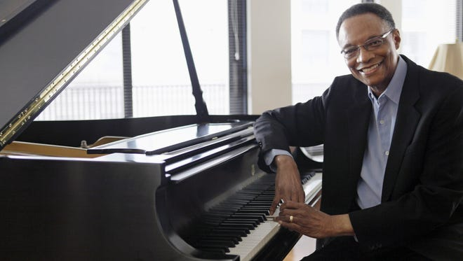 In this photo taken April 5, 2011, jazz pianist and composer Ramsey Lewis describes his composing methods during an interview at his home in Chicago.