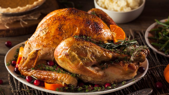 We've got you covered with turkey thawing, brining and cooking times; how many people turkey and sides will feed; and other Thanksgiving by the numbers.