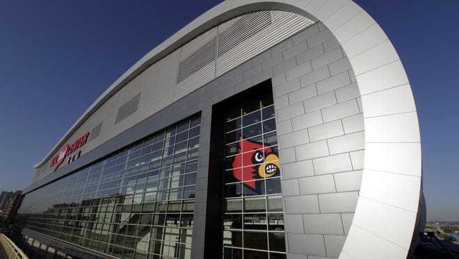 The KFC Yum! Center (By Michael Clevenger, The Courier-Journal) October 7, 2010