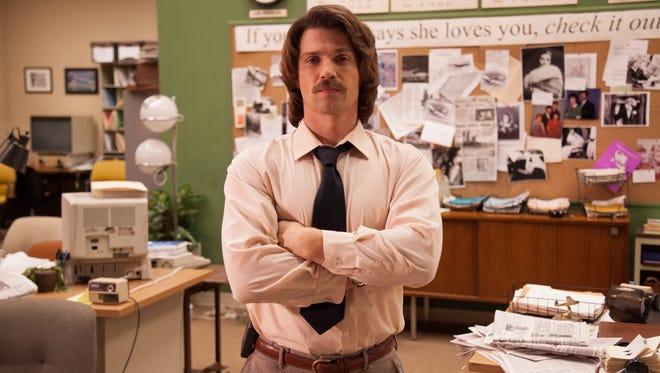 Mike Vogel is Lee Strobel in 'The Case for Christ.'