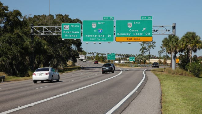 State Road 528 (also known as the Martin B. Anderson Beachline Expressway) was the first road on Central Florida Expressway Authority system.
