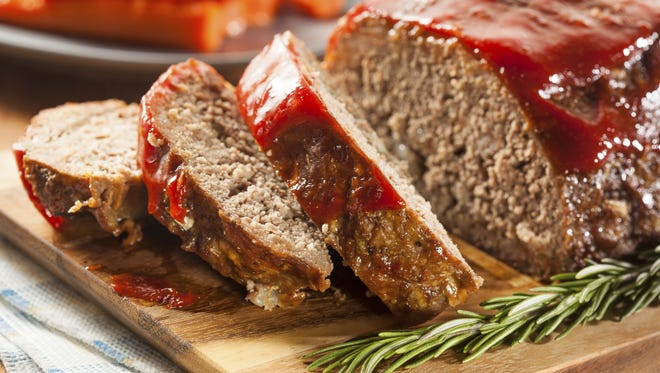 Homemade meatloaf is pure comfort food.